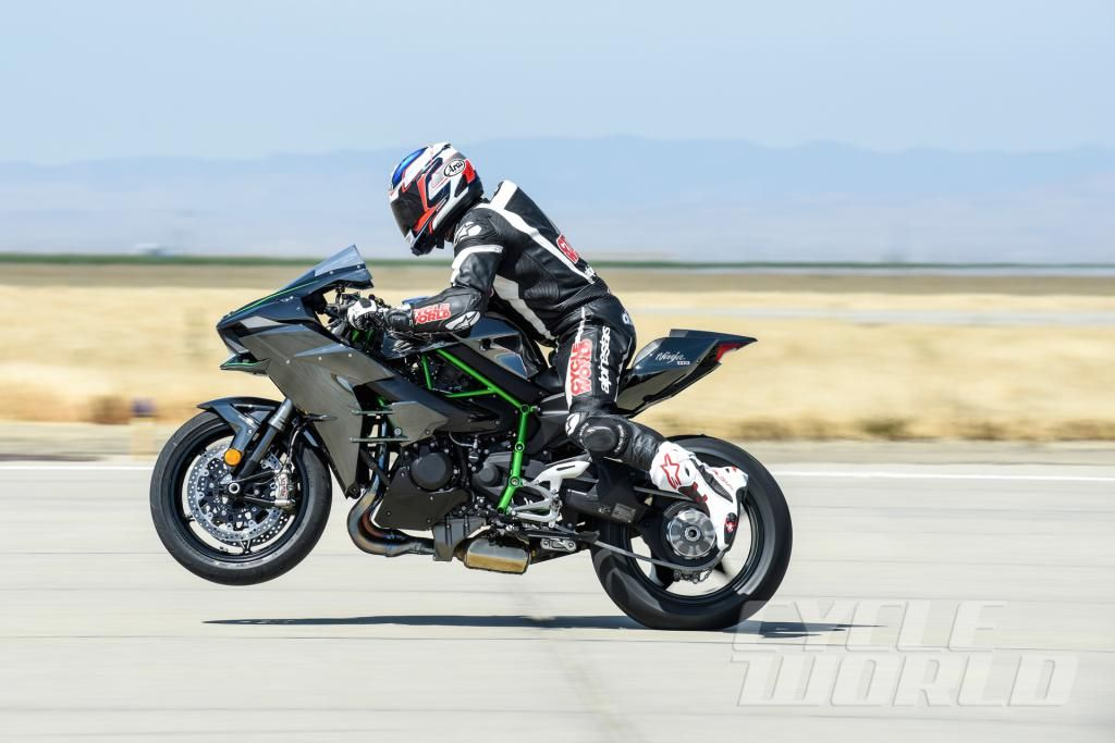 Kawasaki Keeps The H2 And H2r Out Of Cycle World Shootout Kawasaki
