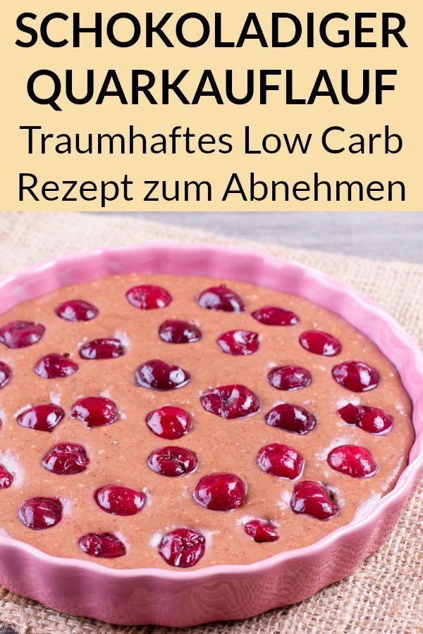 Low Carb Quarkauflauf – Gesund und kalorienarm