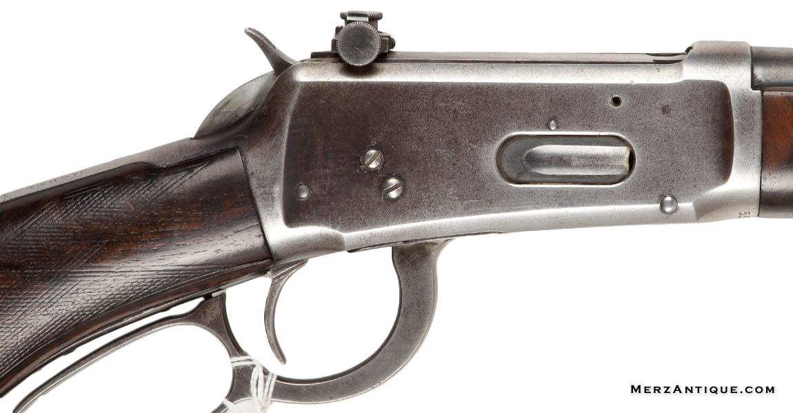 Winchester Mod1894 30-30, with Lyman No 56 receiver peep sight