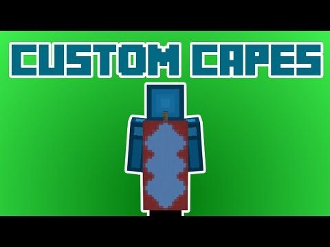 CUSTOM CAPES in Minecraft 1 8! NO MODS! - YouTube