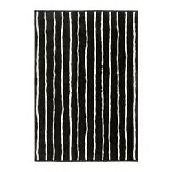 Best Görlöse Rug Low Pile Black White 4 4 X6 5 Rugs 400 x 300