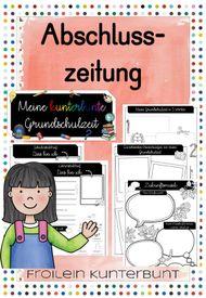 Abschlusszeitung Unterrichtsmaterial In Den Fachern Deutsch