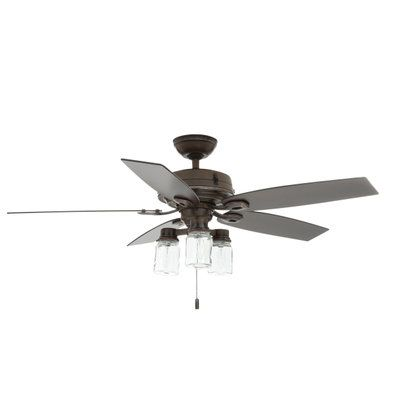 6bed07410d3 Hunter Crown Canyon 52 in. Indoor Regal Bronze Ceiling Fan 53331 at The  Home Depot - Mobile