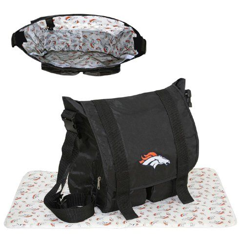 NFL Denver Broncos Diaper Bag - http://nflshop4u.com/shop/nfl-denver-broncos-diaper-bag/