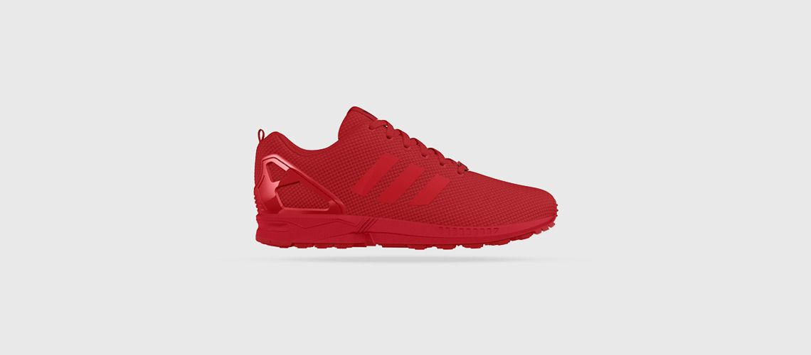 huge selection of fa272 8db44 adidas ZX Flux – All Red, ,  agpos,  sneaker,  sneakers