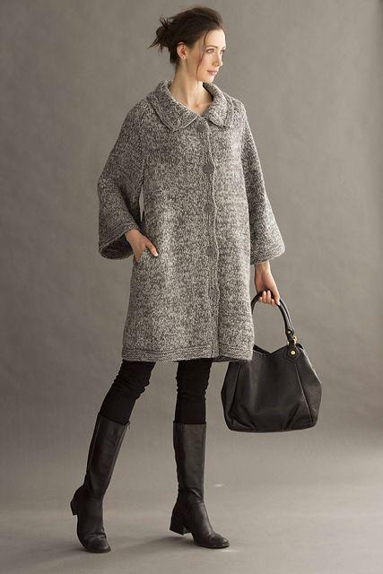 b5337d0efea1 Ravelry   11 Cocoon Coat pattern by Deborah Newton