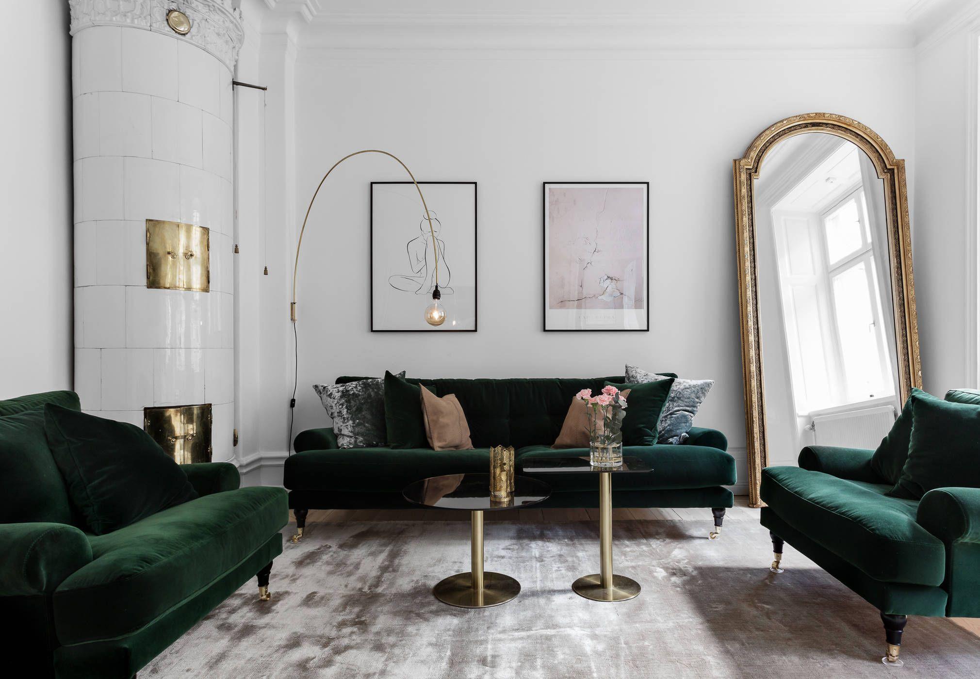 Grünes esszimmer design diese charmante wohnung im zentrum von stockholm ist ein muss  home