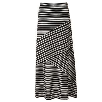 b5df092f71 $36 at Kohls-- Enhance your ensemble with this women's LC Lauren Conrad maxi  skirt, featuring a striped print and crisscross seams for a flowing look.