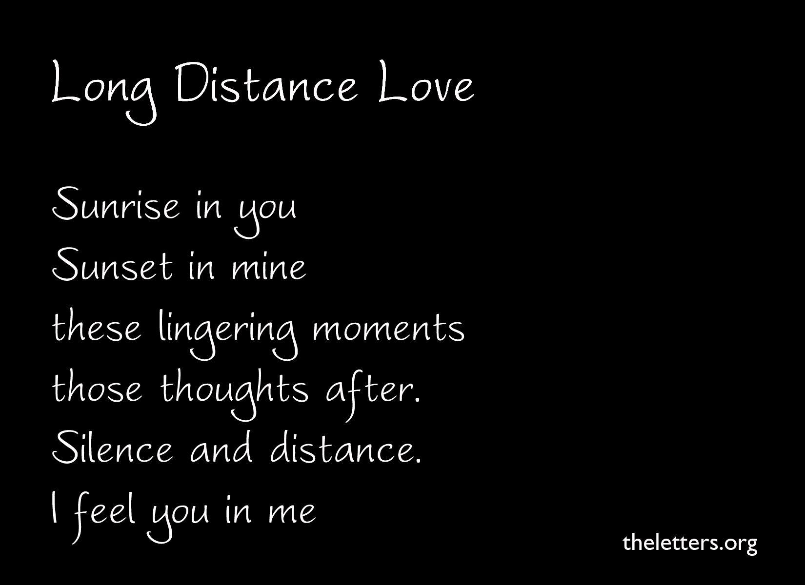 Long Distance Relationship Distance Love Quotes Long Distance