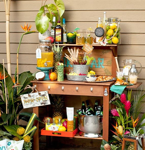 Summer Cocktail Party Ideas Part - 46: Everything You Need To Throw A Tiki Party This Summer. Cocktails,  Decorations And Recipes