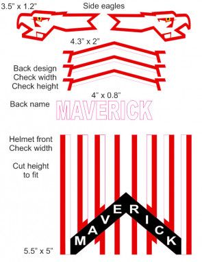 Pin On Cranial Helmet Decals