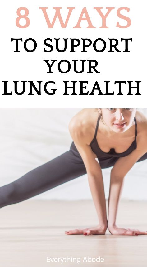 8 Ways To Improve Your Lung Health And Breathing - Everything Abode