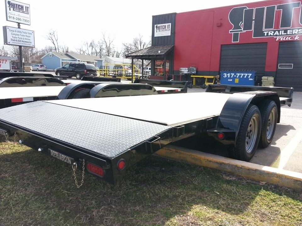 18' Car Hauler Trailer Oklahoma Hitch It Trailer Sales, Trailer ...
