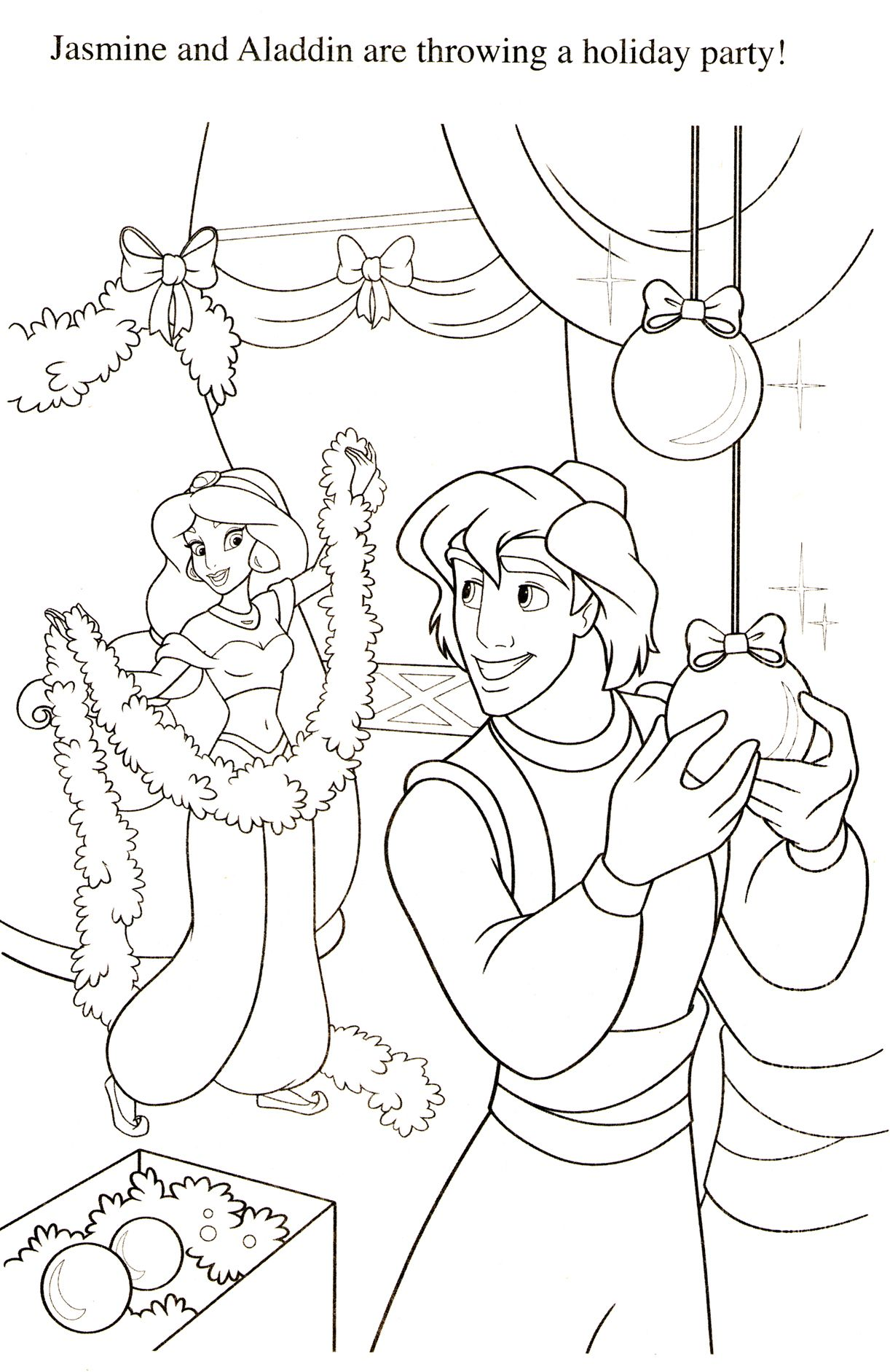5700 Jasmine Christmas Coloring Pages For Free