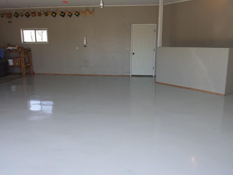 Light Gray Base Coat Flooring Floor Coating Home Decor