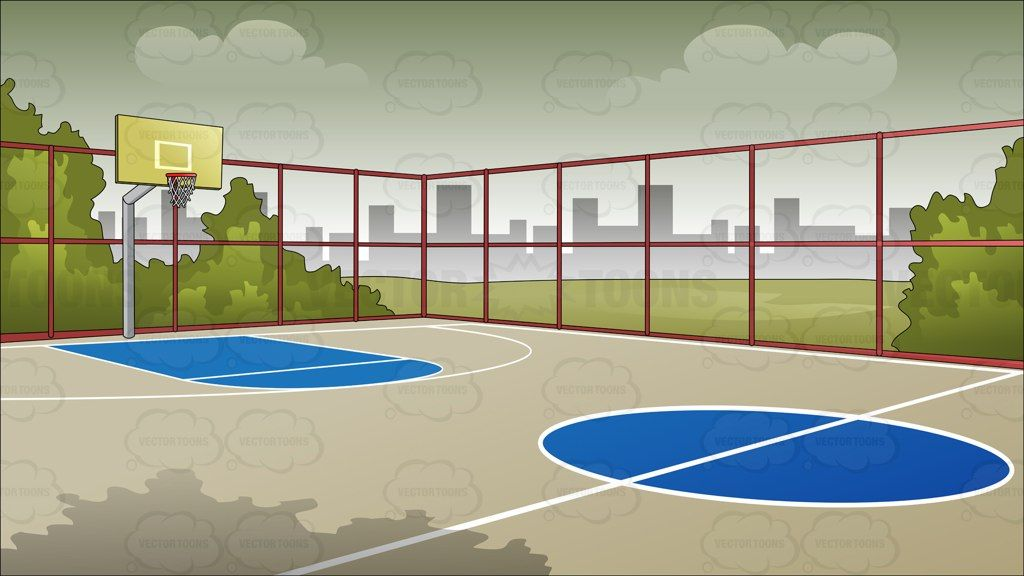 Outdoor Basketball Court Background Outdoor Basketball Court Basketball Court Backyard Backyard Basketball