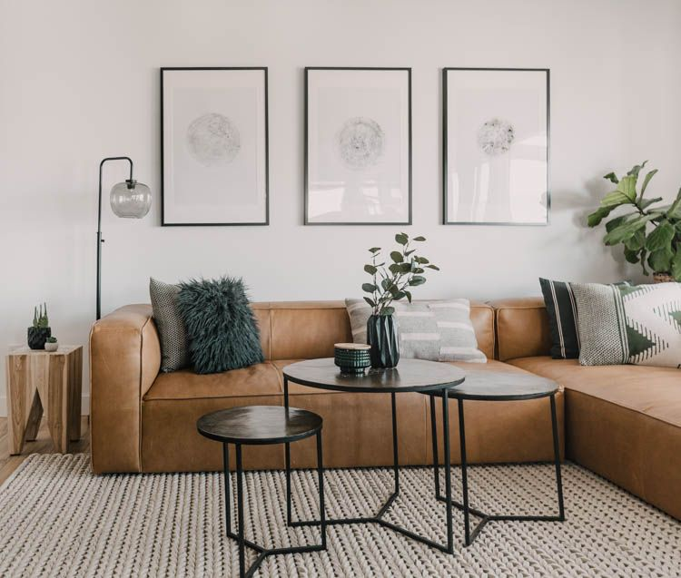 Choosing A Perfect Sofa Or Sectional Article Mello Sectional Review Lemon Thistle Living Room Scandinavian Contemporary Home Decor Scandinavian Design Living Room
