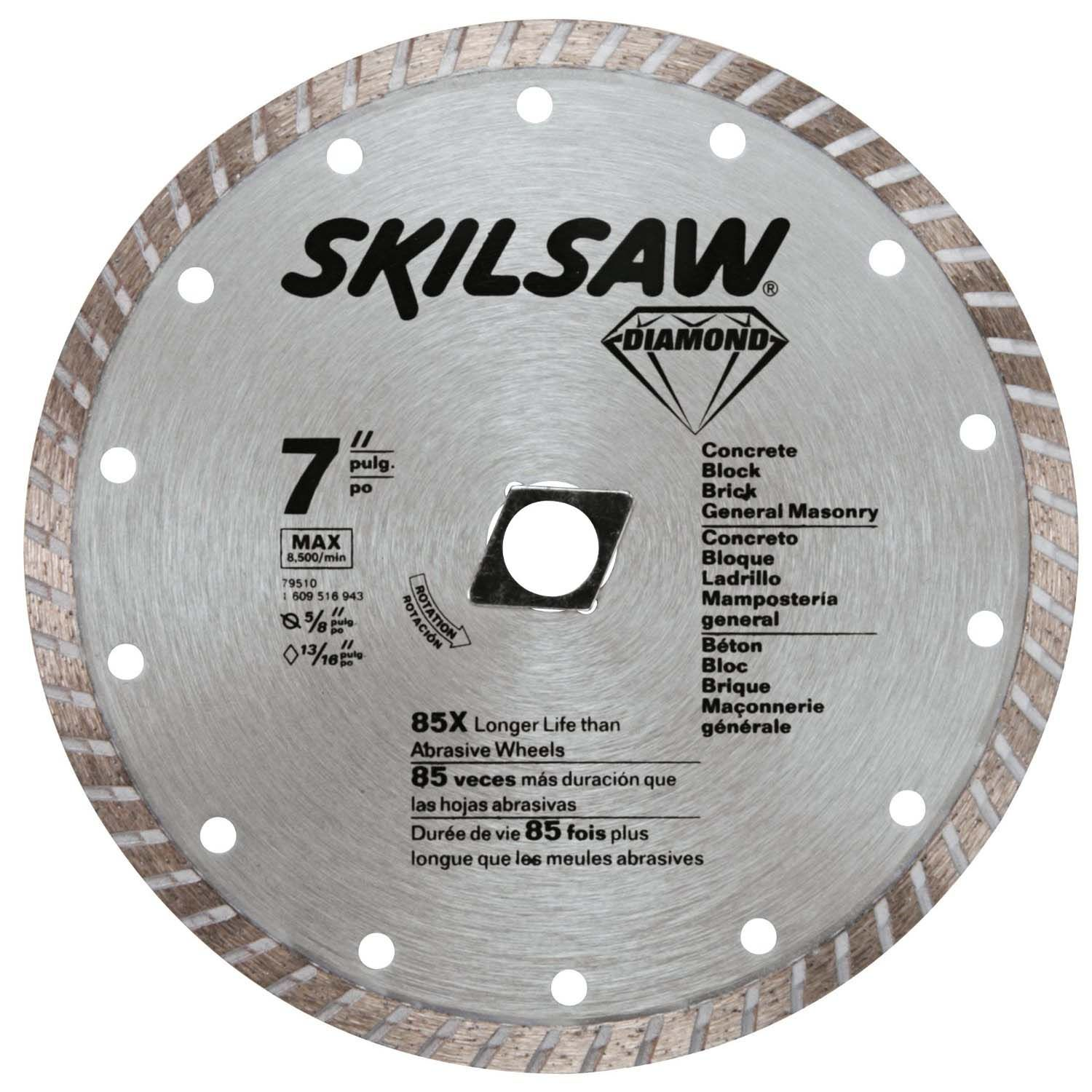 Skil Skil 7 Turbo Diamond Blade 79510 Reviews Diamond Saw Blades Diamond Blades Saw Blade