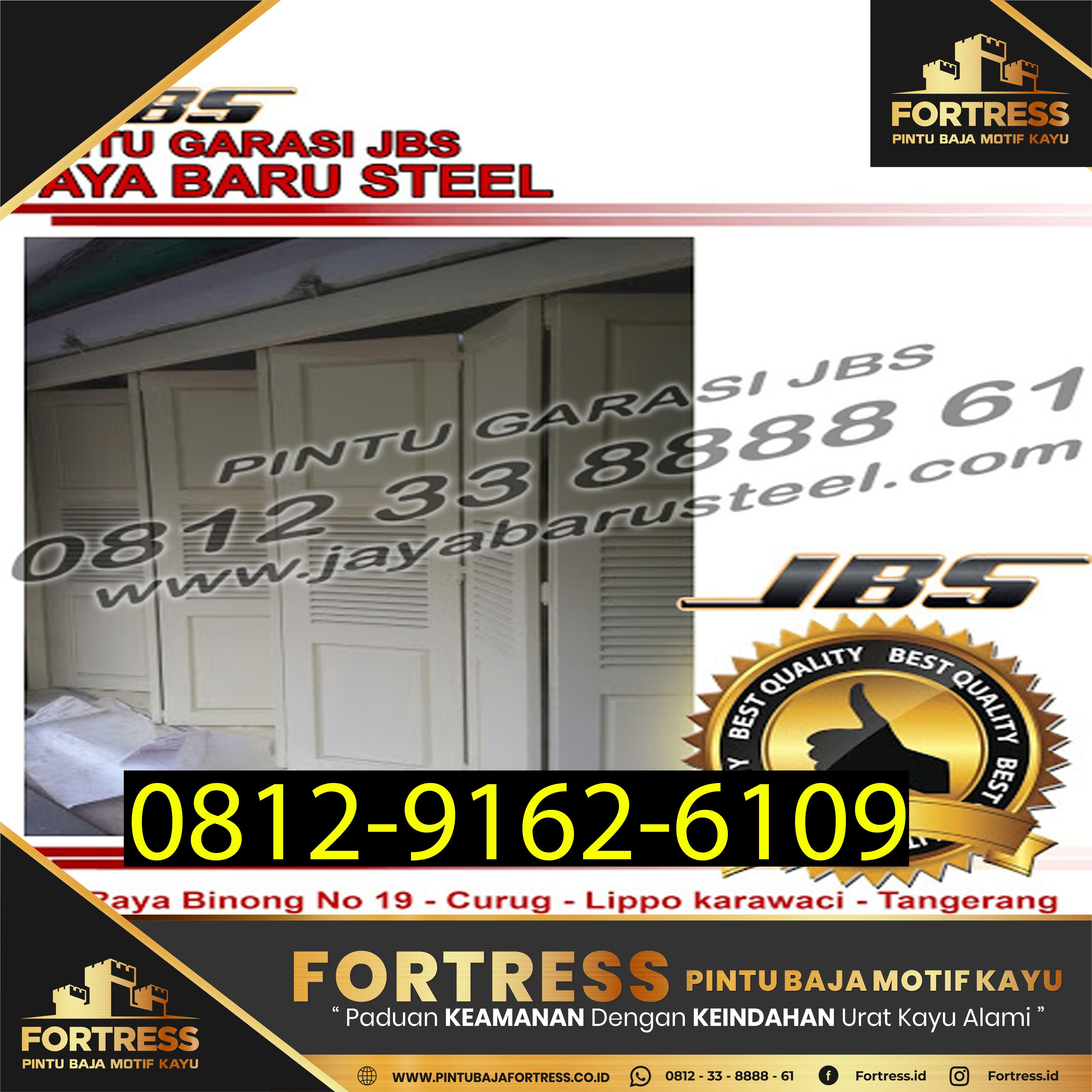 0812 9162 609 Fortress Pintu Garasi Sliding Kayu Pintu Garasi Sliding Kayu Jati Bogor Pintu Garasi Garasi Pintu