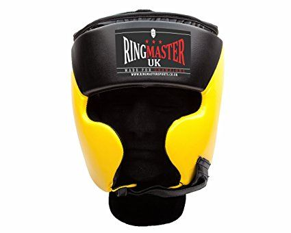 4e8ae8635225c RingMaster UK Head Guard HeadGear Boxing MMA Martial Arts Protector ...