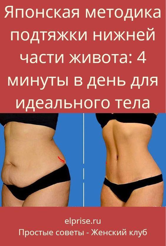 тренировка для похудения в области живота
