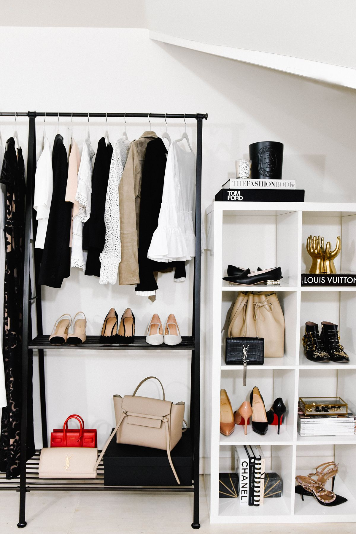 fashion jackson dallas blogger home office clothing rack how to style a
