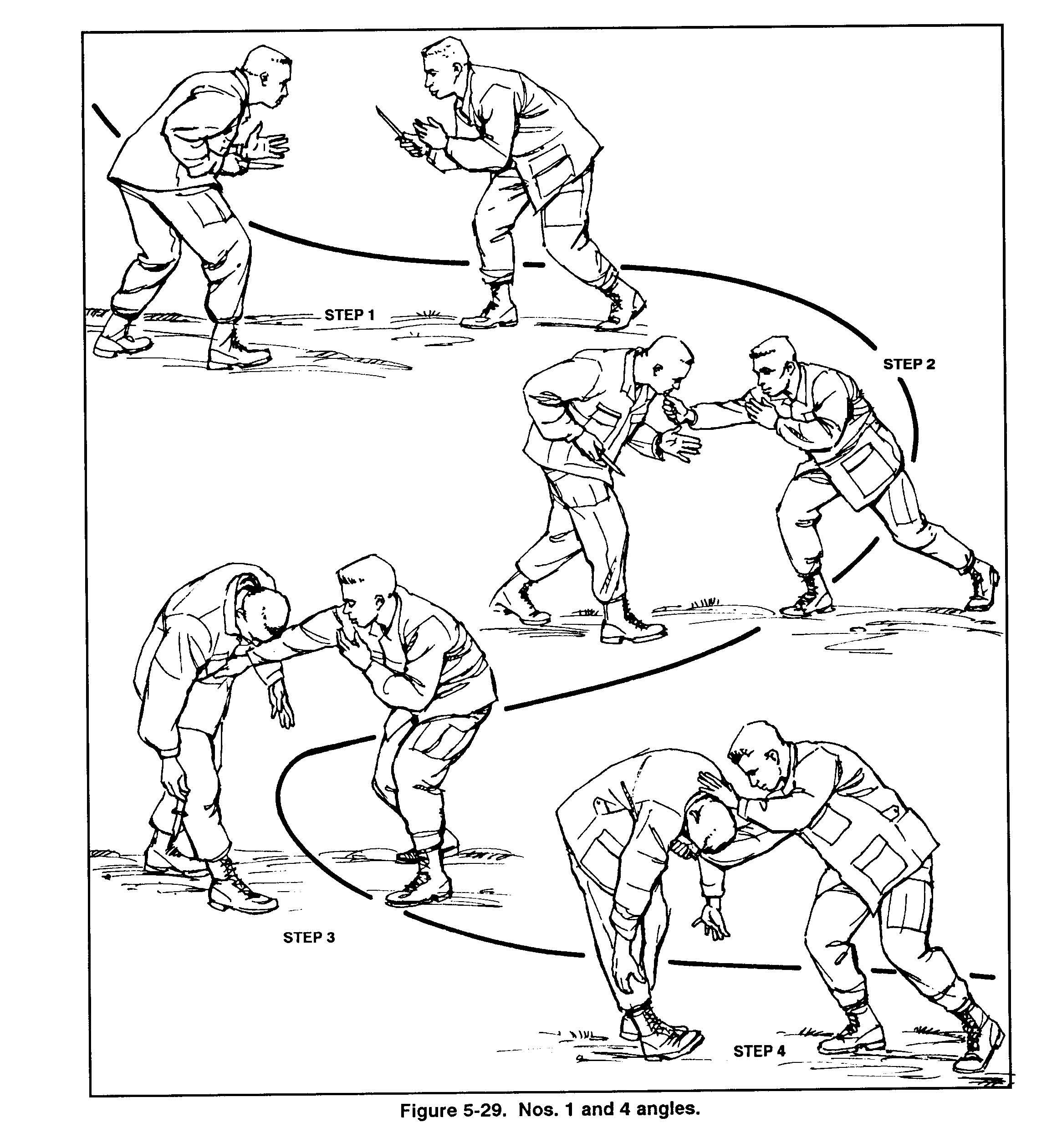 5-9 Knife Against Knife Sequence « US Army Combatives