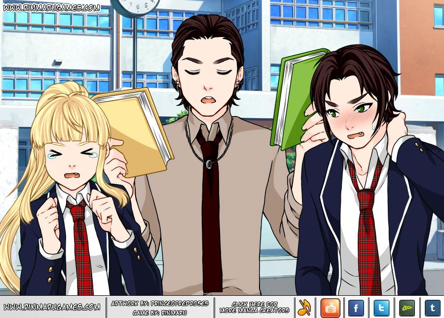 Manga Creator School Days page 17 Screen shot 1 rinmaru