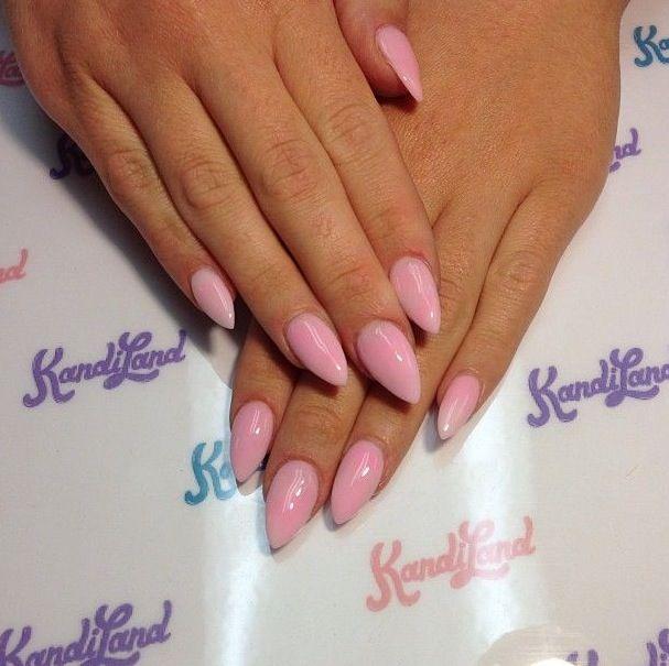 Ideal stiletto nails.