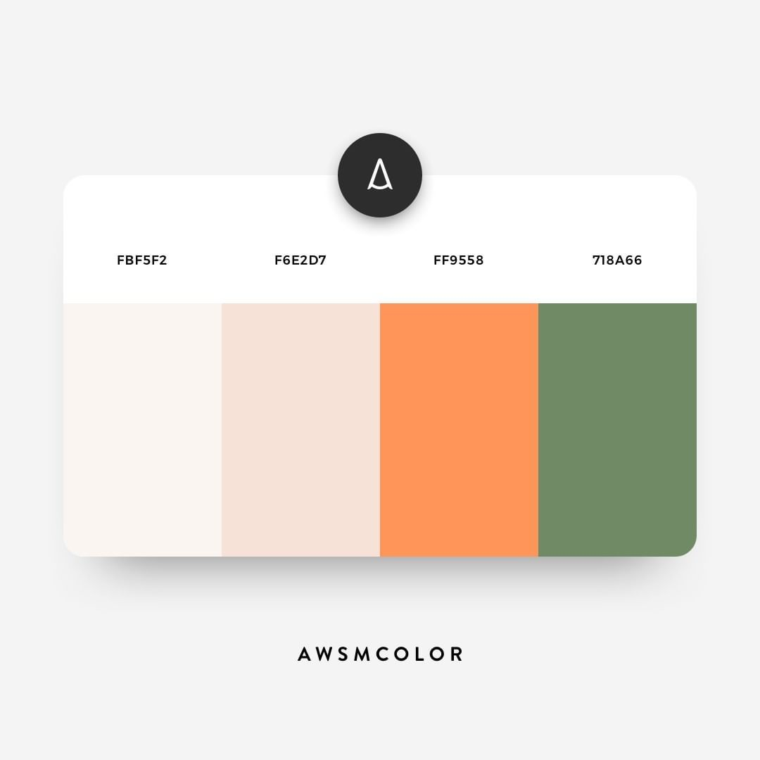 Comments Awesome Color Inspiration Awsmcolor On Instagram  F F E A Awsmcolor A Vintage Vibe Color Scheme  F F  B What Do You Think