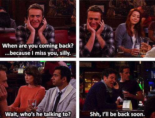 Separation anxiety - How I Met Your Mother
