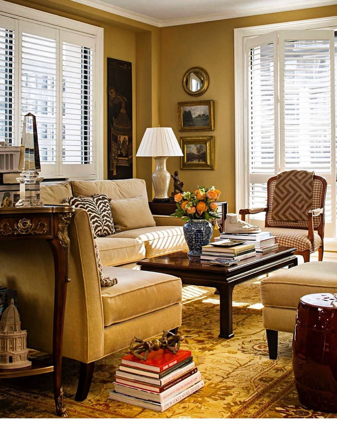 Living Room Traditionalhome Via Schefferinteriors 🧡 ️