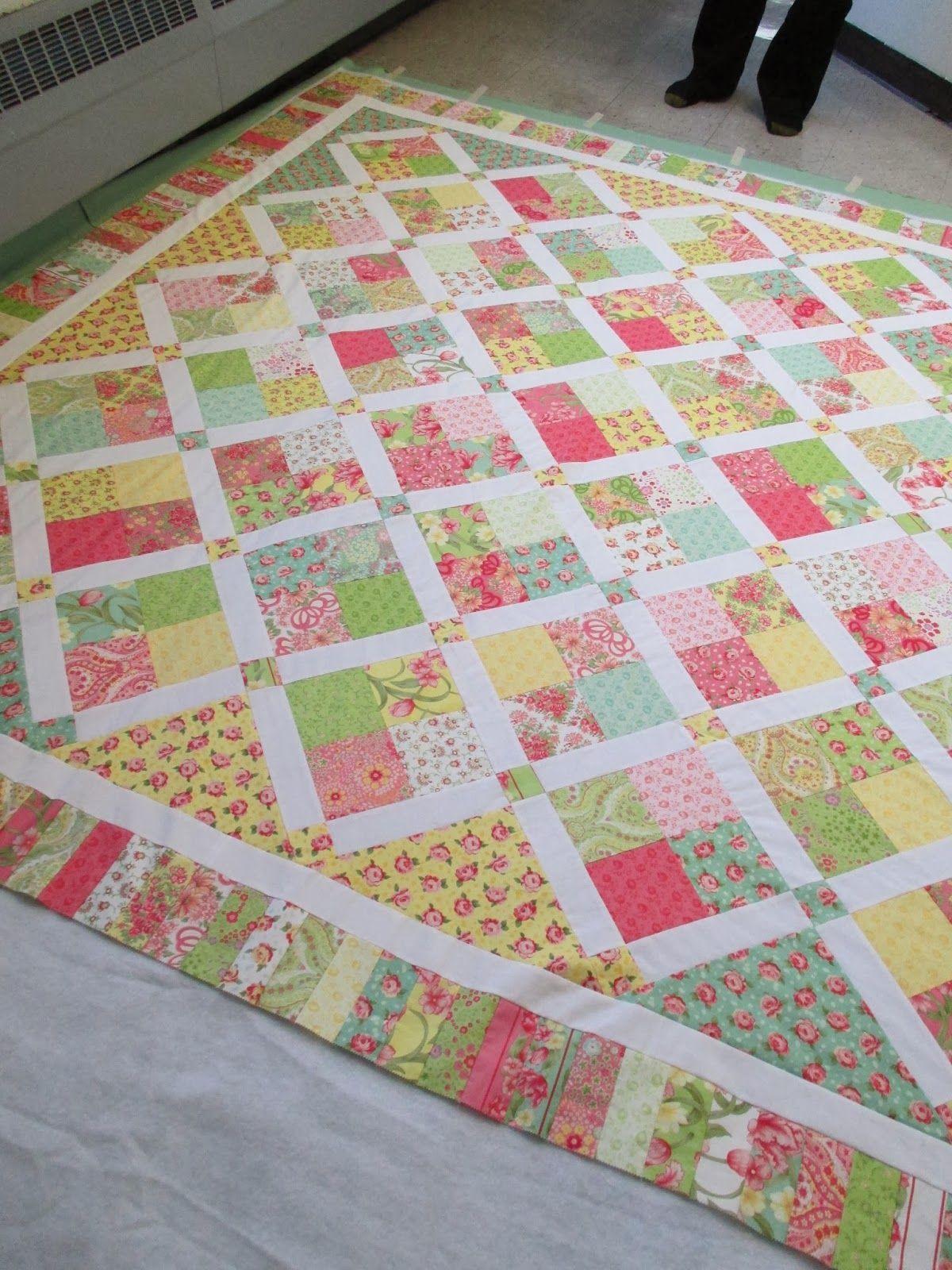 Pin von anna maria ulreich auf decken quilten patchwork und quilten und patchwork ideen - Patchwork ideen ...