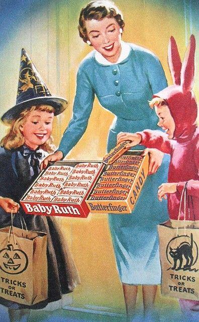 vintage trick or treat