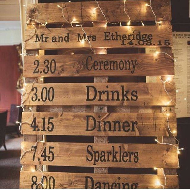 Wedding Signage Ideas: Wedding Signs, Rustic And Chalkboards For Businesses
