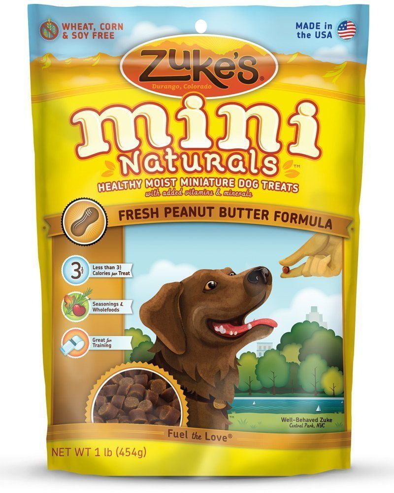 Zuke S Mini Naturals Dog Treats Fresh Peanut Butter Formula 1lb Pack Of 2 You Can Find Out More Dog Food Recipes Puppy Training Treats Natural Dog Treats