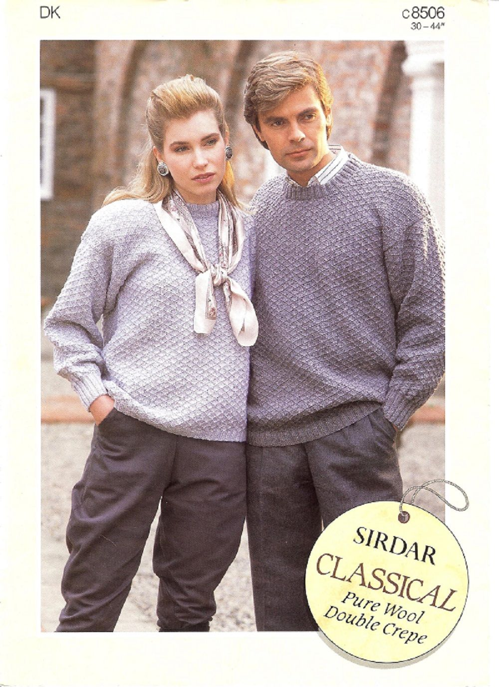 Sirdar Knitting Pattern 8506, DK, His & Hers Sweaters | Knitting ...