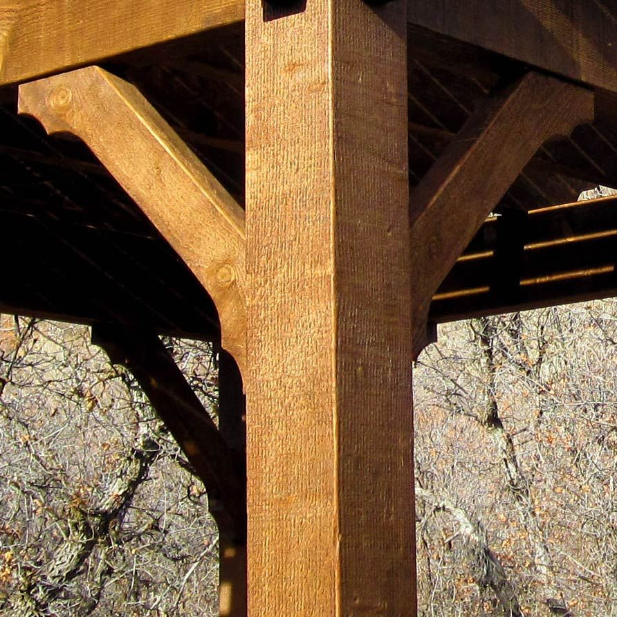 Timber Frame Ceiling Fan : Timber construction corner bracing google search