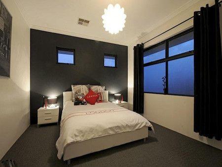 Brown Colours Romantic Bedroom Design Idea With Carpet ...