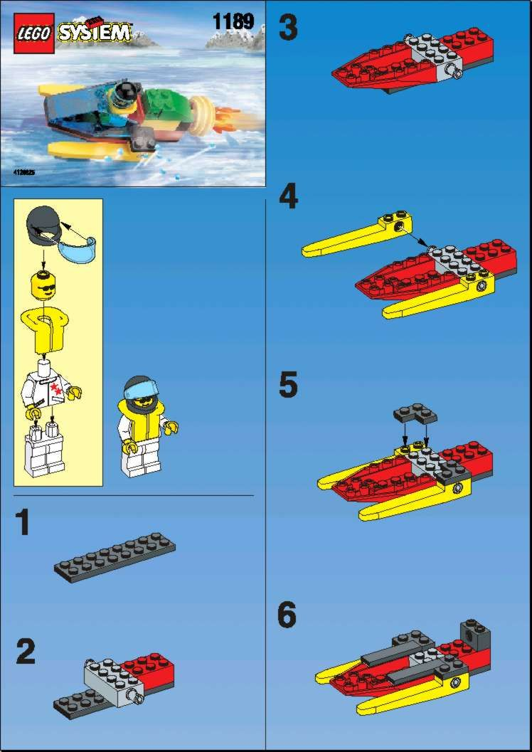 Town Rocket Boat Lego 1189 Ashers Board Pinterest Lego