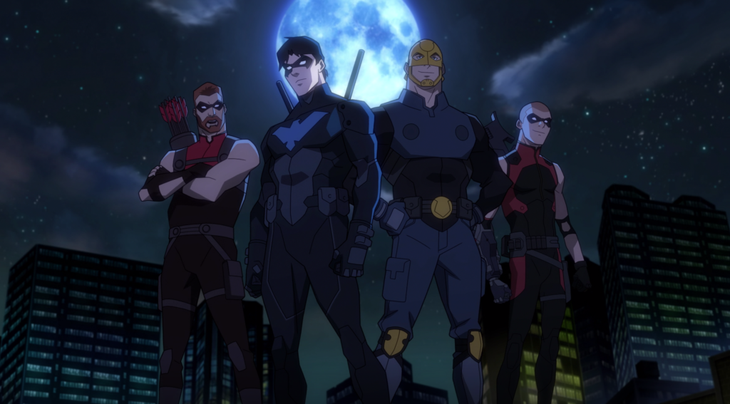 Icymi Review Young Justice Outsiders Episodes 4 Private Security Butwhythopc Blogengage Young Justice Cartoon Tv Shows Nightwing