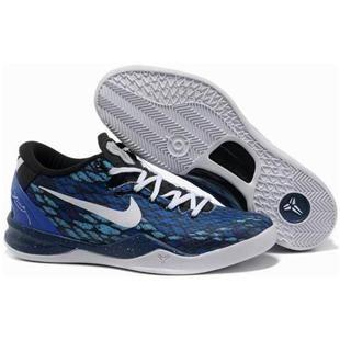 low priced c4647 0e80f http   www.anike4u.com  Nike Zoom Kobe 8 Blue White
