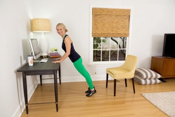 #barre3 founder Sadie Lincoln wants you sweating at your desk.