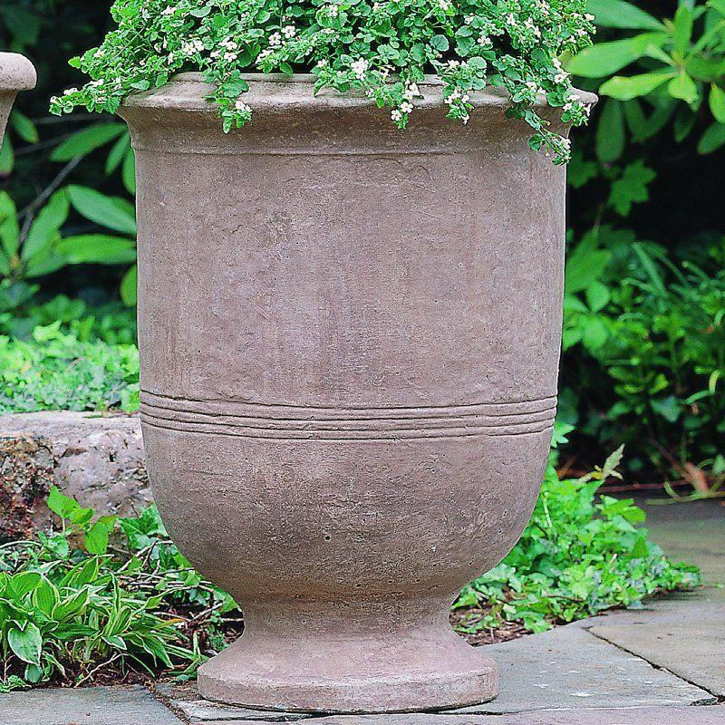 Campania International Provencal Large Cast Stone Urn Planter Urn Planters Cast Stone Stone Planters