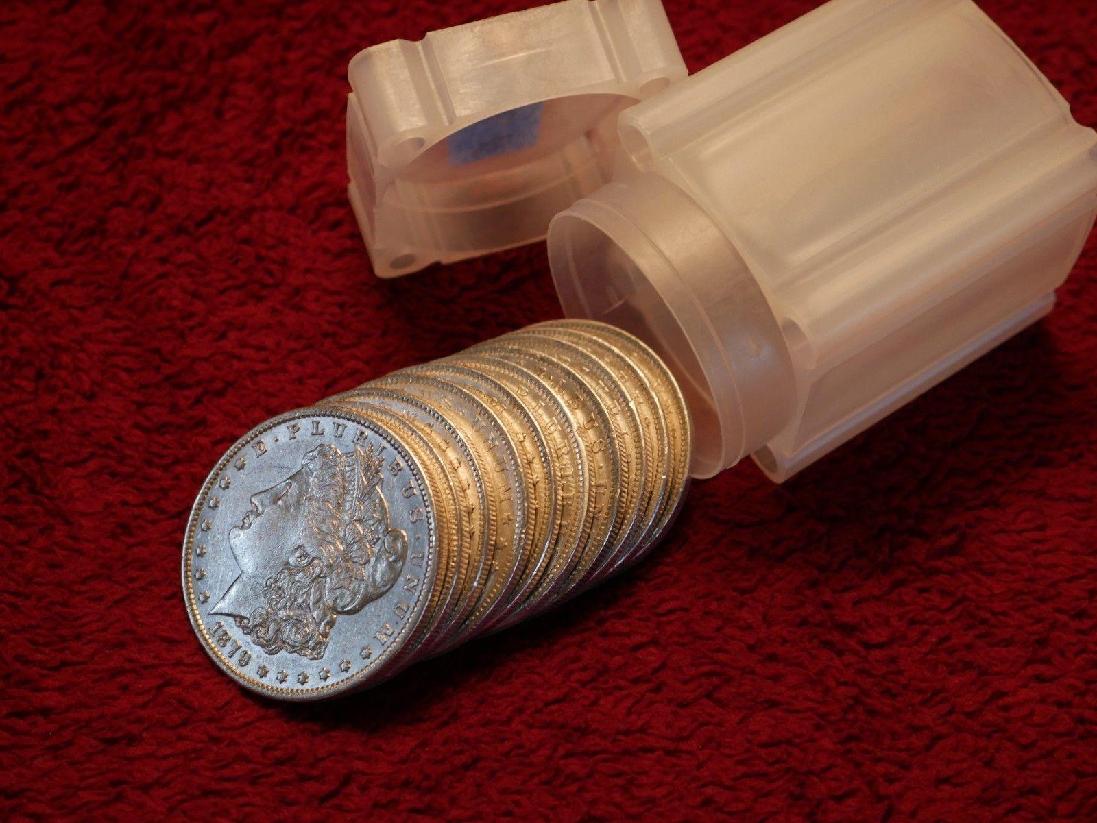 Morgan Dollar Lot 1/2 Roll Pre 1888   AU to AU   FREE SHIPPING   (my #771)  https://t.co/ciJZuzvzC8 https://t.co/55Fr43hZ7a