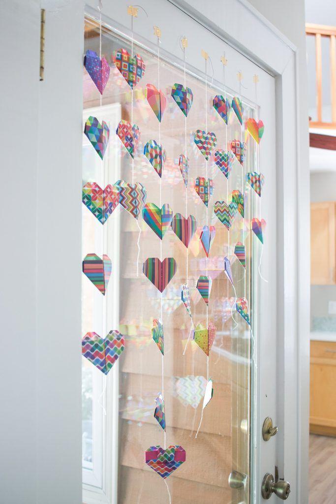 Photo of How to Make Happy Origami Hearts | Radiant Home Studio