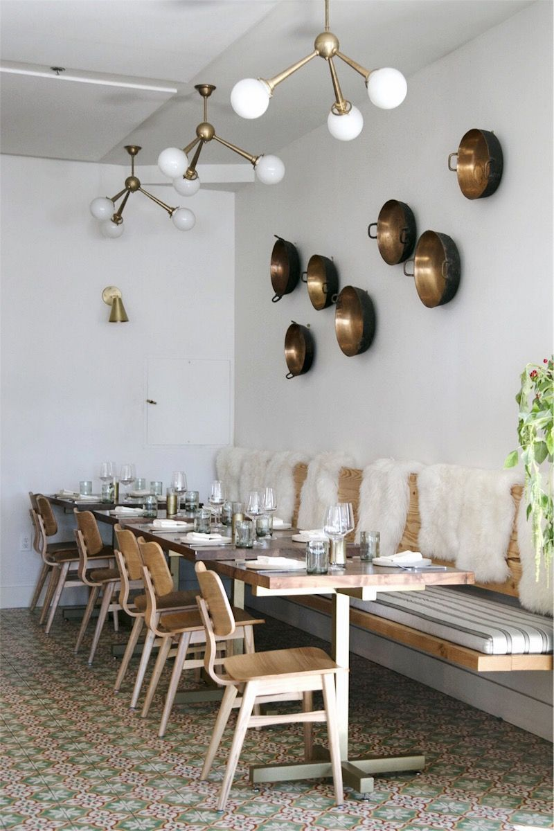 Eclectic Scandinavian Design Inspiration From Loquita Santa Barbara Anne Sage Scandinavian Furniture Design Restaurant Design Inspiration Restaurant Interior Design