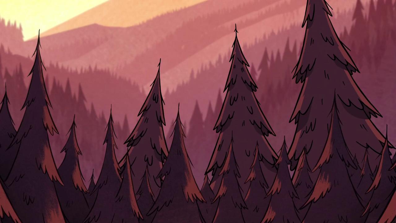 Gravity Falls Background Art - Google Search