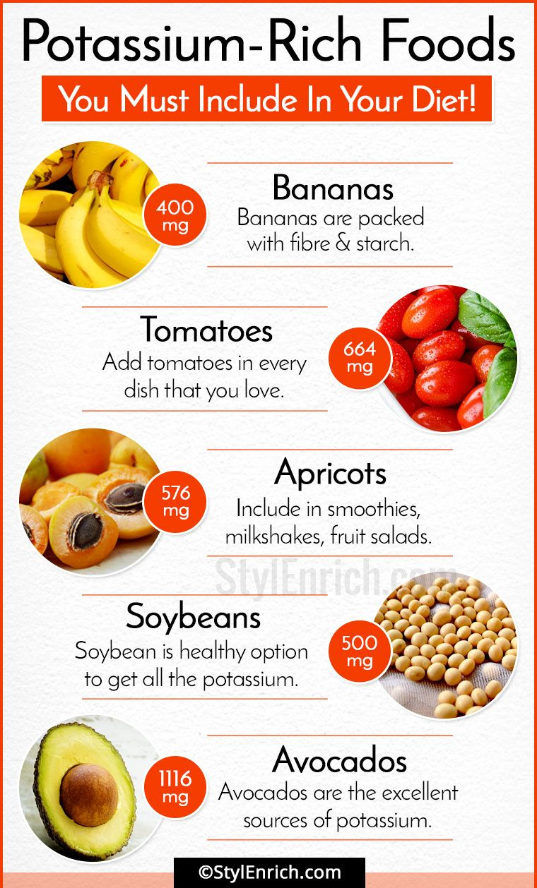 Potassium-rich foods for your health 58