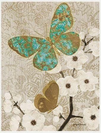 Ahşap Boyama 58 Kelebek Desenli Dekupaj Boyama Pinterest